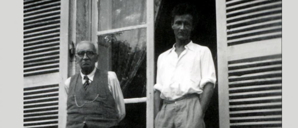 Paul Claudel et J-L Barrault à Brangues