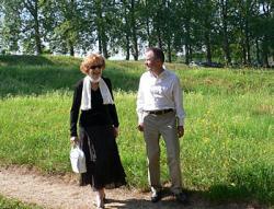 Jacques Parsi  et Antoinette Weber-Cafflish